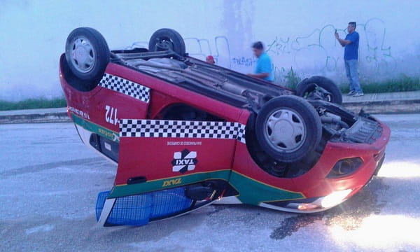 Accidente Taxi
